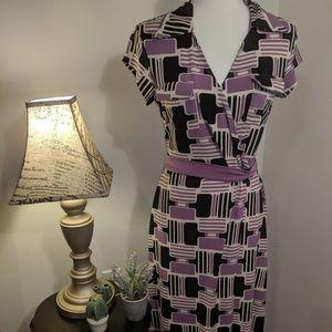 Merona Geometric Print Vintage Inspired Dress